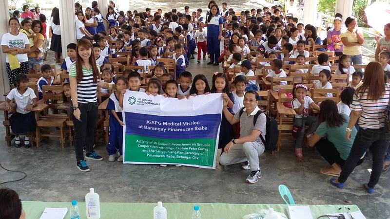 Medical Mission at Pinamucan